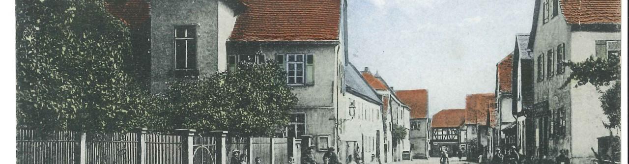Denkmal für die politisch Verfolgten in Mörfelden 1933-1945