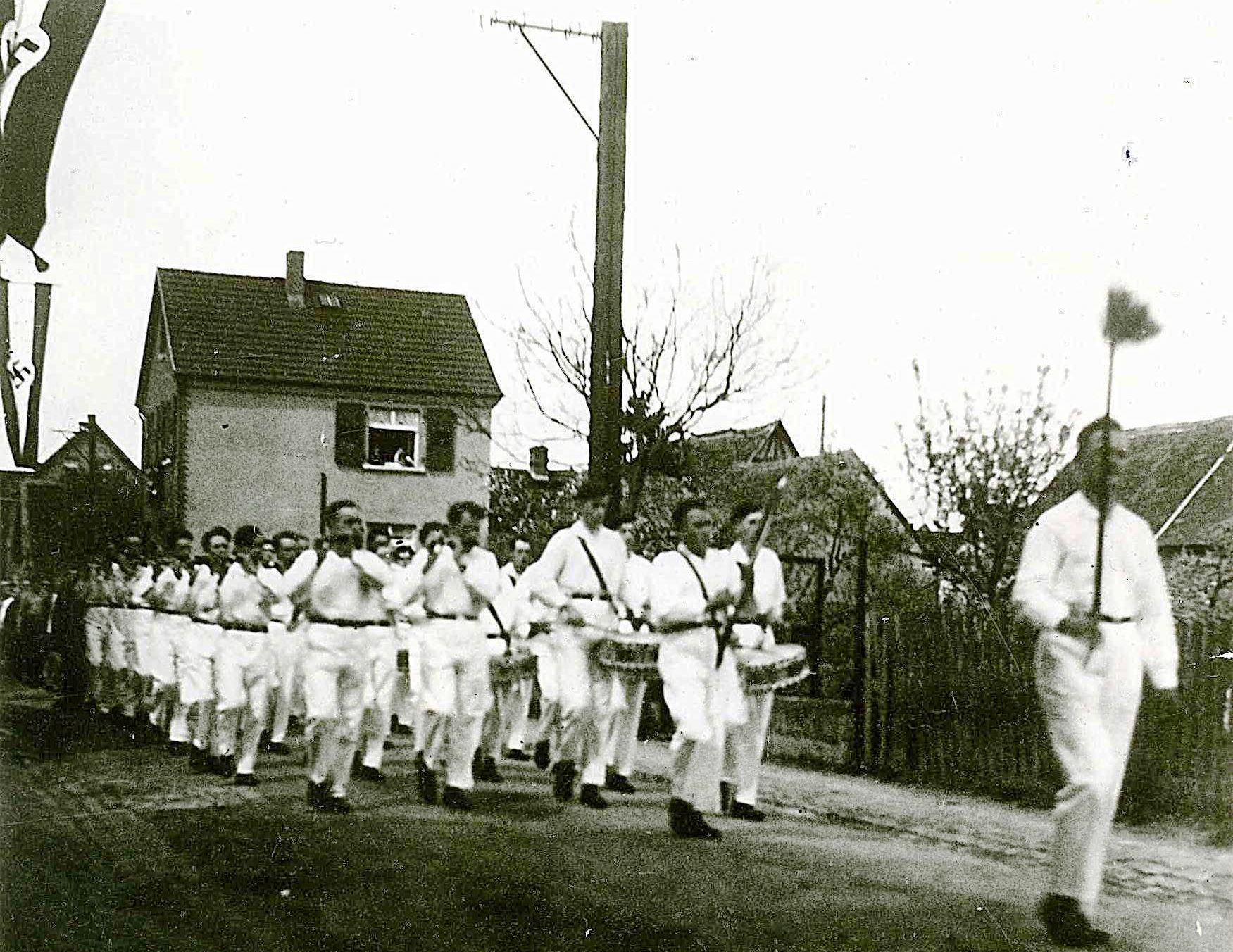 Freie Turner am 1. Mai 1933