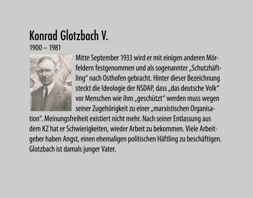 Glotzbach Konrad V geb. 1900