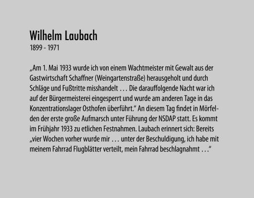 Laubach Wilhelm