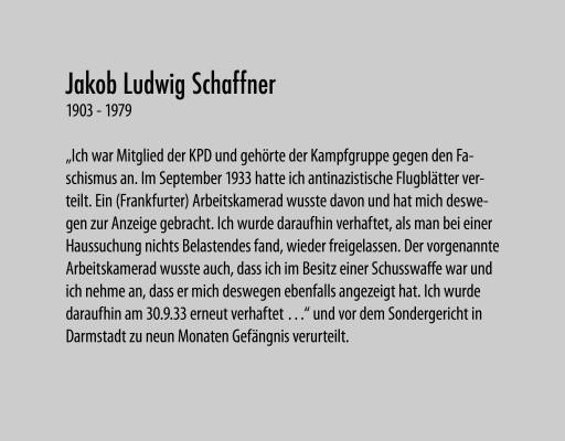 Schaffner Jakob Ludwig