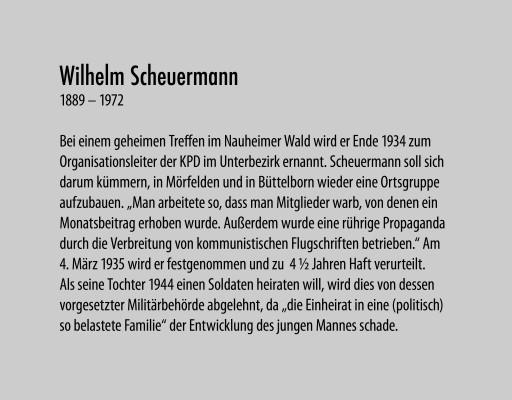 Scheuermann Wilhelm